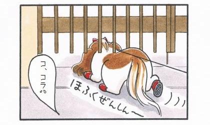 置物の犬-3