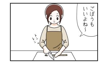 便秘の犬の手作りご飯に、ごぼうもいいよね~