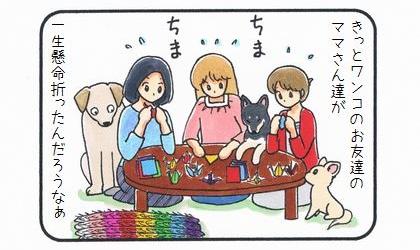 カートに乗った犬 ~みんなの祈り~-3