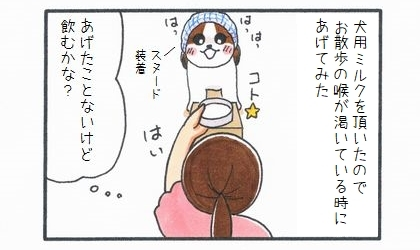 初めての犬用ミルク-1