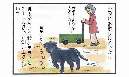 もう一匹のカートに乗った犬-1
