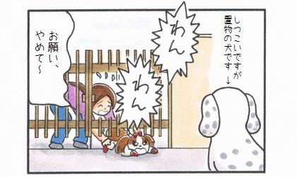置物の犬-4