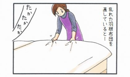 羽根布団-1