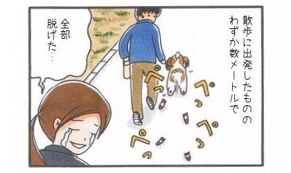 犬靴下に再挑戦!!-4