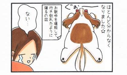 「背中にハートマークがある犬」-4