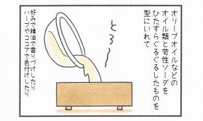 敷物1番乗り -ママの手作り石けん♪-2