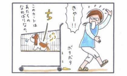 ペット用カート☆マーキング編-4