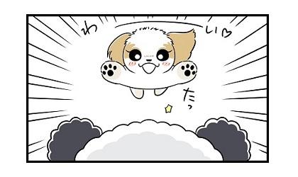新しいドームハウスe 4コマ犬漫画 ぷりんちゃんねる