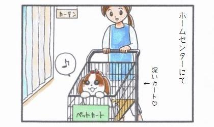 ペット用カート☆マーキング編-1