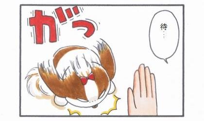 まろんダイエット作戦☆ダイエット中の「待て!」-2