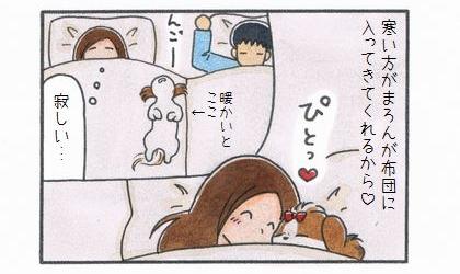 寒い寝室のススメ-4