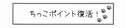 ちっこポイント復活!-0