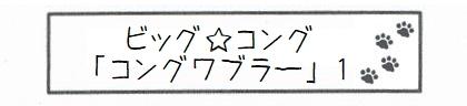 ビッグ☆コング「コングワブラー」 1-0